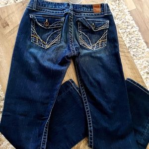 BKE Madison Denim Bootcut Jean Dark Wash Pockets